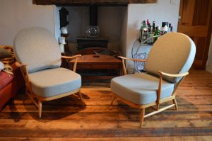 pair of ercol 203s after