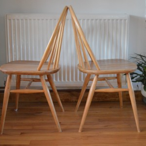 The Andrews Partnership - Ercol stick back chairs