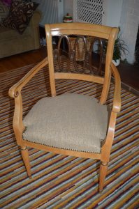 Italian chair c1950 after